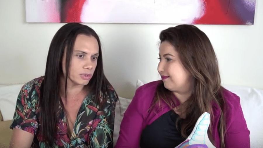 Silvero Pereira e Mariana Xavier - Reprodução/YouTube