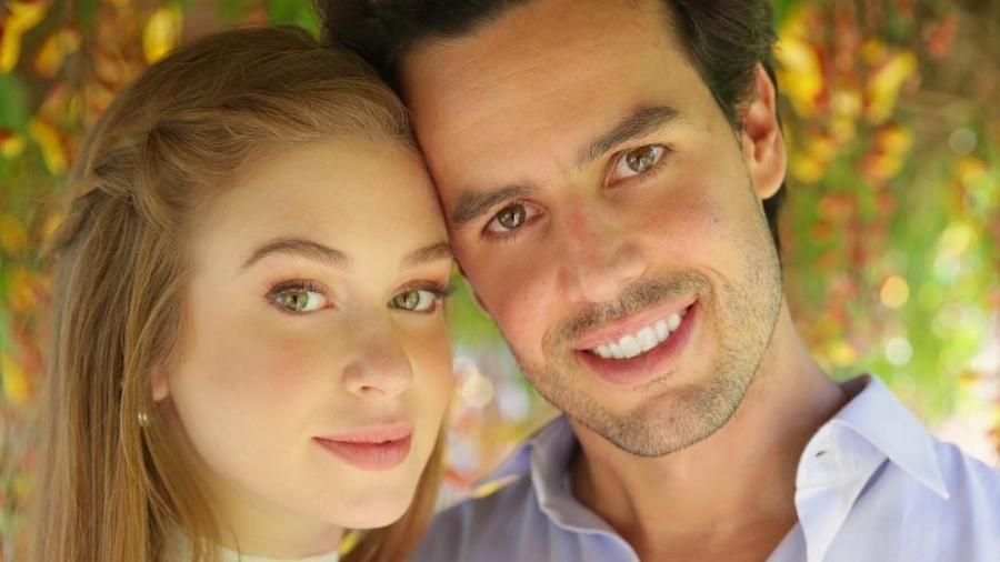 Marina Ruy Barbosa e o agora ex-marido, o piloto Xande Negrão - Reprodução/Instagram