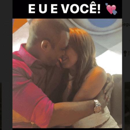 Zilu e o noivo, Marco Antonio Teles  - Reprodução/Instagram