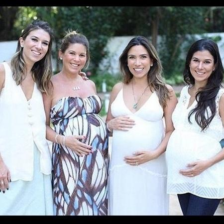 Rebeca, Daniela, Patrícia e Renata Abravanel festejam a chegada de mais netos para Silvio Santos - Reprodução/Instagram/@patriciaabravanel