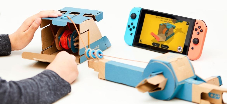 Nintendo Labo - Divulgação