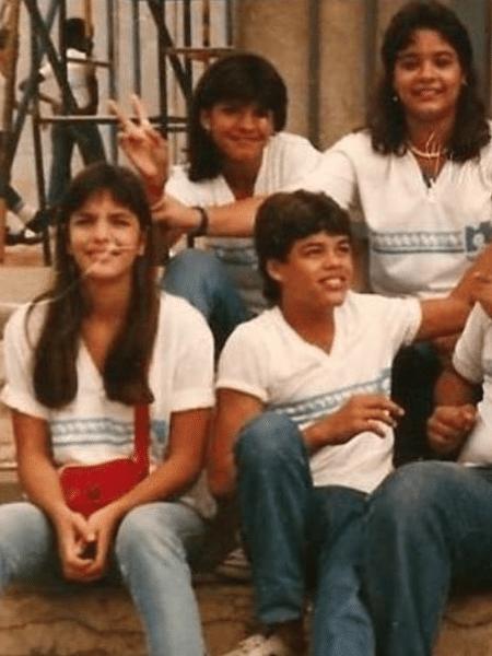 Ivete Sangalo em foto da adolescência - Reprodução/Instagram