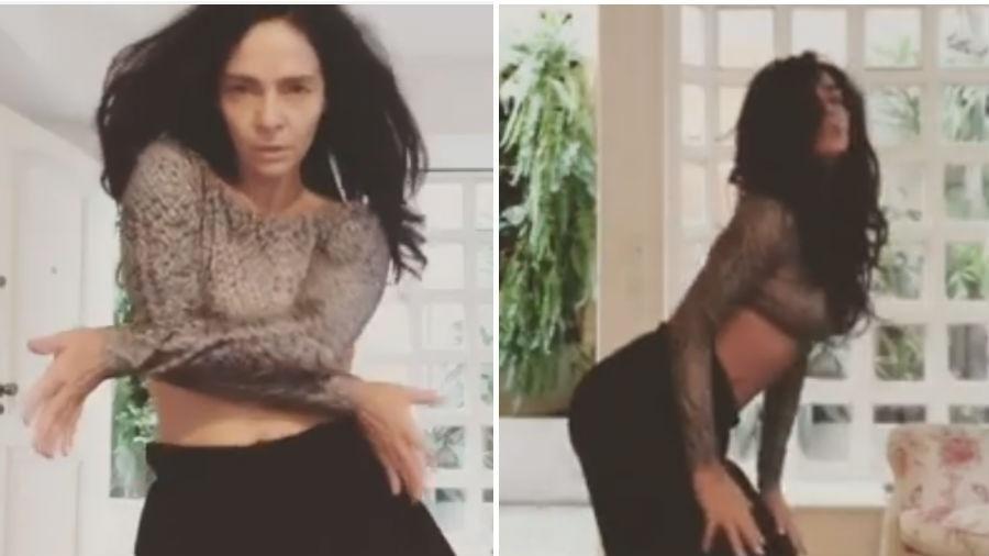 Claudia Ohana dança música de Beyoncé - Reprodução/Instagram