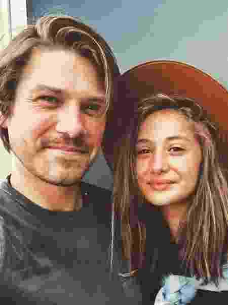 Taylor Hanson e a filha Penelope, de 13 anos - Reprodução/Instagram