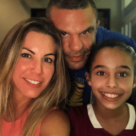 Joana Prado e Vitor Belfort com Kyara - Reprodução/Instagram