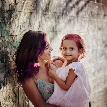 Janelle Cuilla e a filha - Dapper And Posy A Photography Ta/Love What Matters