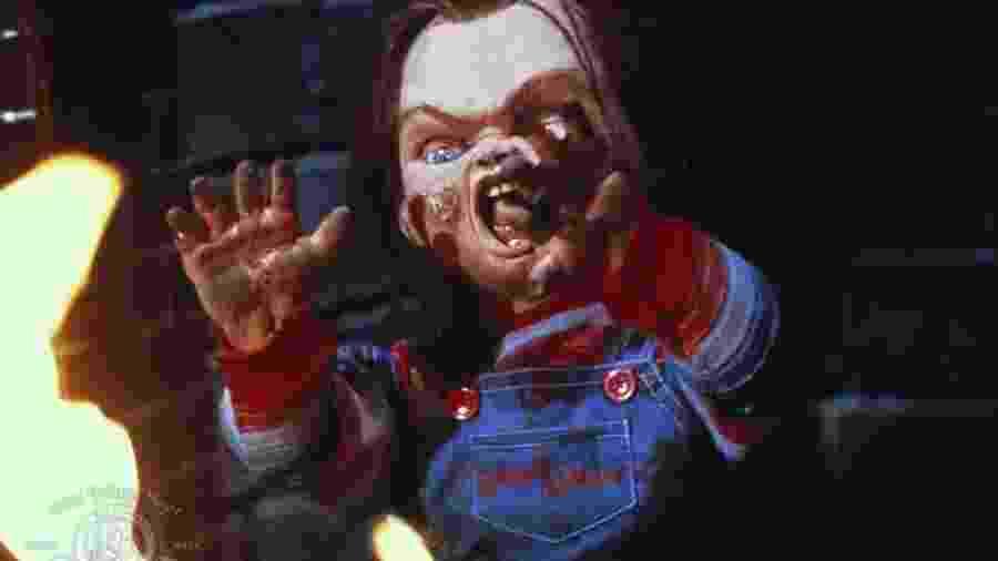 """Cena do filme """"Brinquedo Assassino"""", de 1988 - Reprodução"""