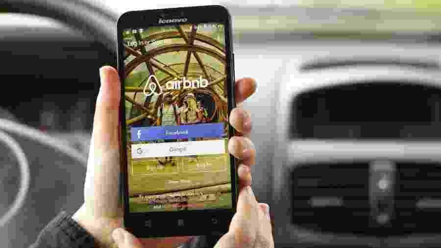 Airbnb ainda não se manifestou sobre o assunto - Getty Images