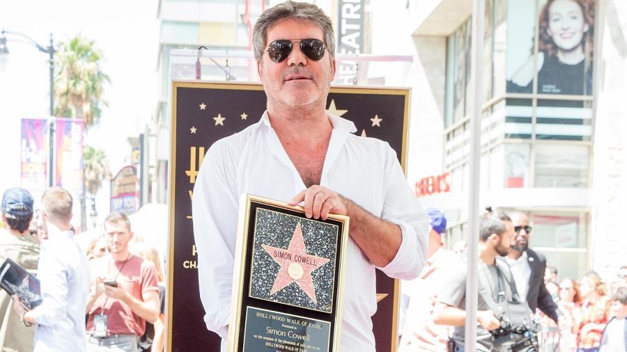 """Simon Cowell: jurado do """"The X Factor"""" é acusado de """"escravizar artistas"""" - Rich Fury/Getty Images/AFP"""