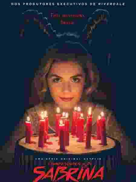 """Pôster de """"O Mundo Sombrio de Sabrina"""" - Divulgação"""