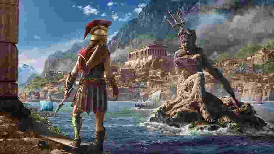 """Assassin""""s Creed Odyssey é um dos jogos que estarão no serviço - Reprodução"""