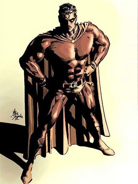 Personagem Flama, criado pelo brasileiro Deodato Taumaturgo Borges - Reprodução/Mike Deodato Jr.