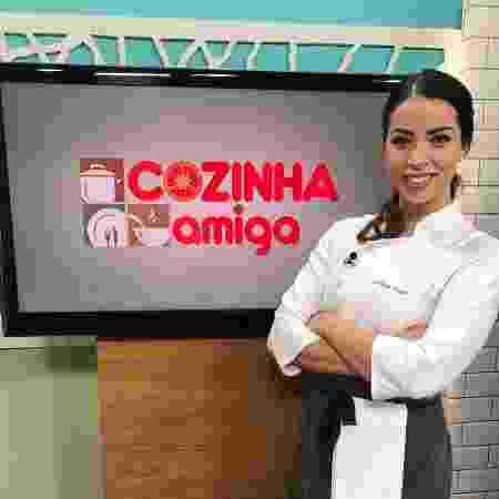 """Giuliana Giunti, apresentadora do """"Cozinha Amiga"""" - Reprodução/Instagram/omelhorprato - Reprodução/Instagram/omelhorprato"""