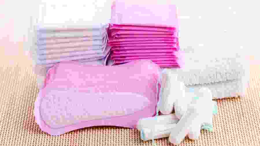 Absorvente - Getty Images/iStockphoto