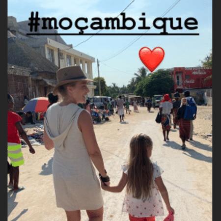 Angélica e Eva passeiam por Moçambique - Reprodução/Instagram