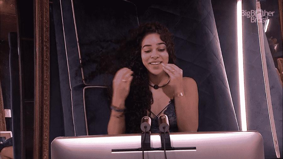"""Elana no confessionário do """"BBB19"""" - Reprodução/GloboPlay"""