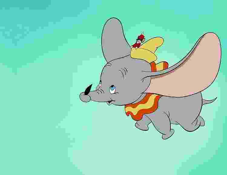 """O """"Dumbo"""" clássico da Disney, de 1941 - Divulgação/IMDb - Divulgação/IMDb"""