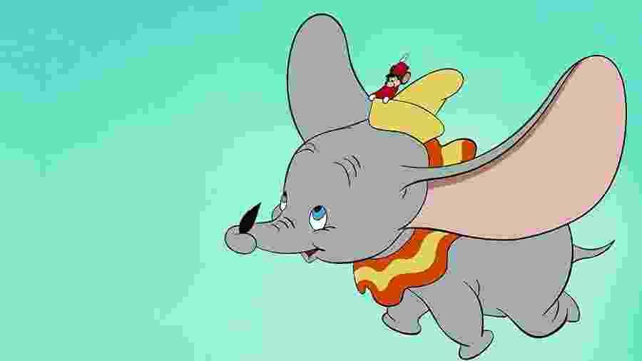 """O """"Dumbo"""" clássico da Disney, de 1941 - Divulgação/IMDb"""