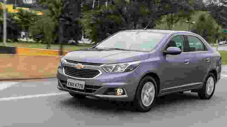 Chevrolet Cobalt 2019 - Divulgação - Divulgação
