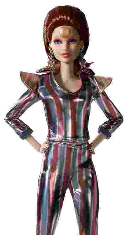 Boneca Barbie inspirada em David Bowie - AFP