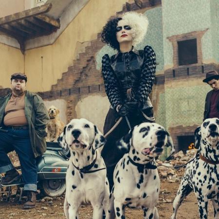 Emma Stone vive Cruella de Vil em novo filme da Disney - Divulgação
