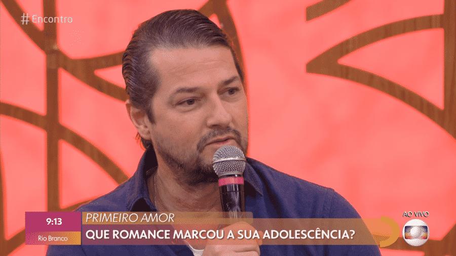 Marcelo Serrado no Encontro com Fátima Bernardes - Reprodução/Globoplay