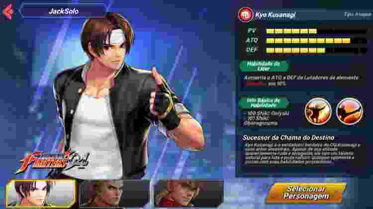 The King of Fighters ALLSTAR 2 - Reprodução - Reprodução