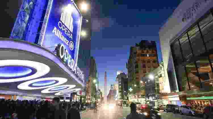 A Avenida Corrientes é uma espécie de Brodway portenha, pela quantidade de teatros que abriga - Ente de Turismo de la Ciudad de Buenos Aires/Divulgação