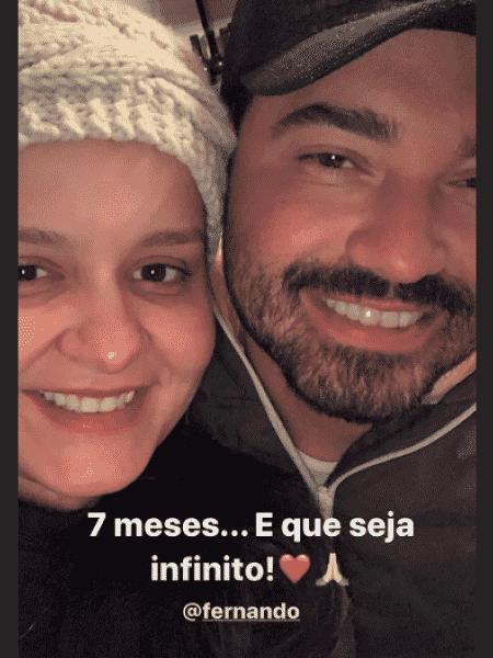 Maiara e Fernando comemoram sete meses de namoro - Reprodução/Instagram