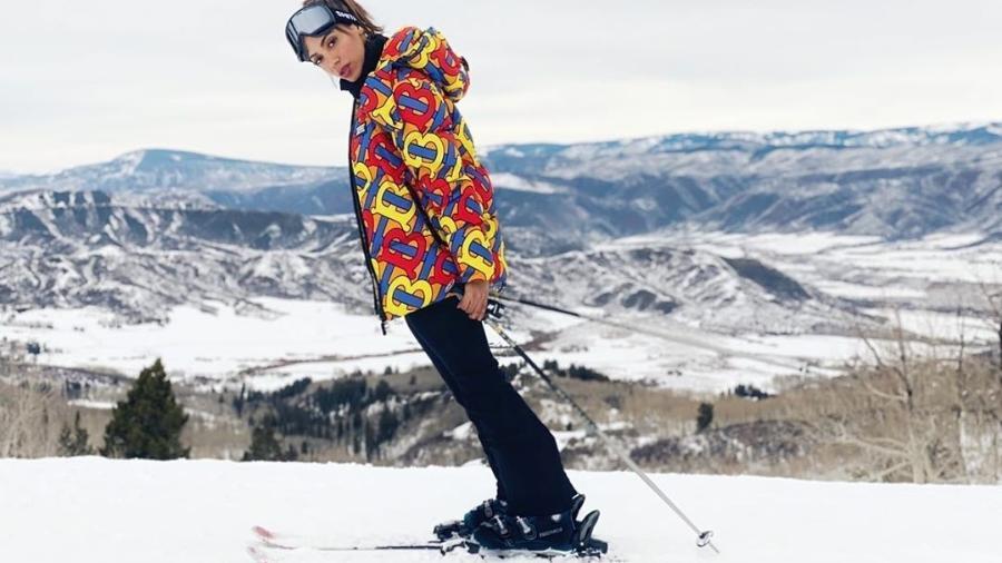 Anitta, esquiando nos Estados Unidos - Reprodução/ Instagram