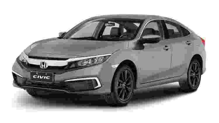 Honda Civic LX - Divulgação - Divulgação