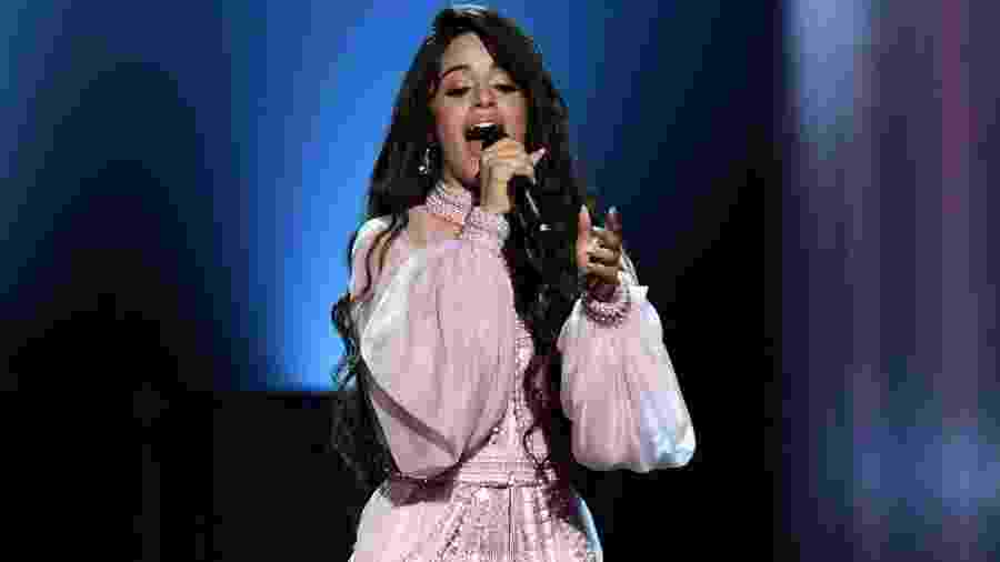 Camila Cabello apresenta a canção First Man no Grammy 2020 - Kevin Winter/Getty Images for The Recording Academy