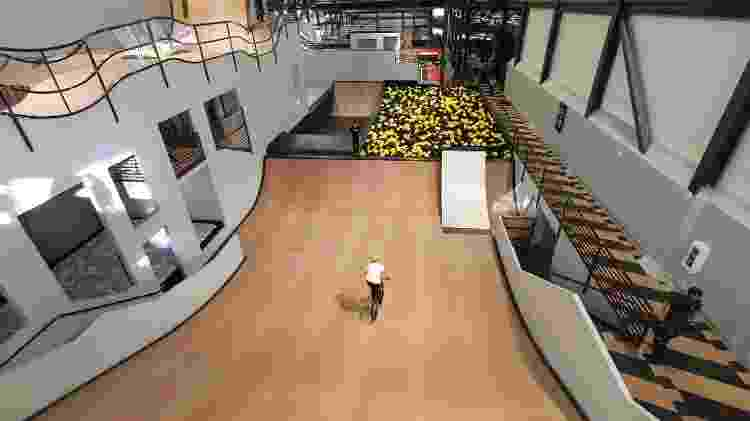 Atividades indoor no Woodward Park City - Marcel Vicenti/UOL - Marcel Vicenti/UOL