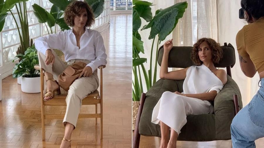 Camila Pitanga em entrevista à Glamour - Divulgação/Glamour