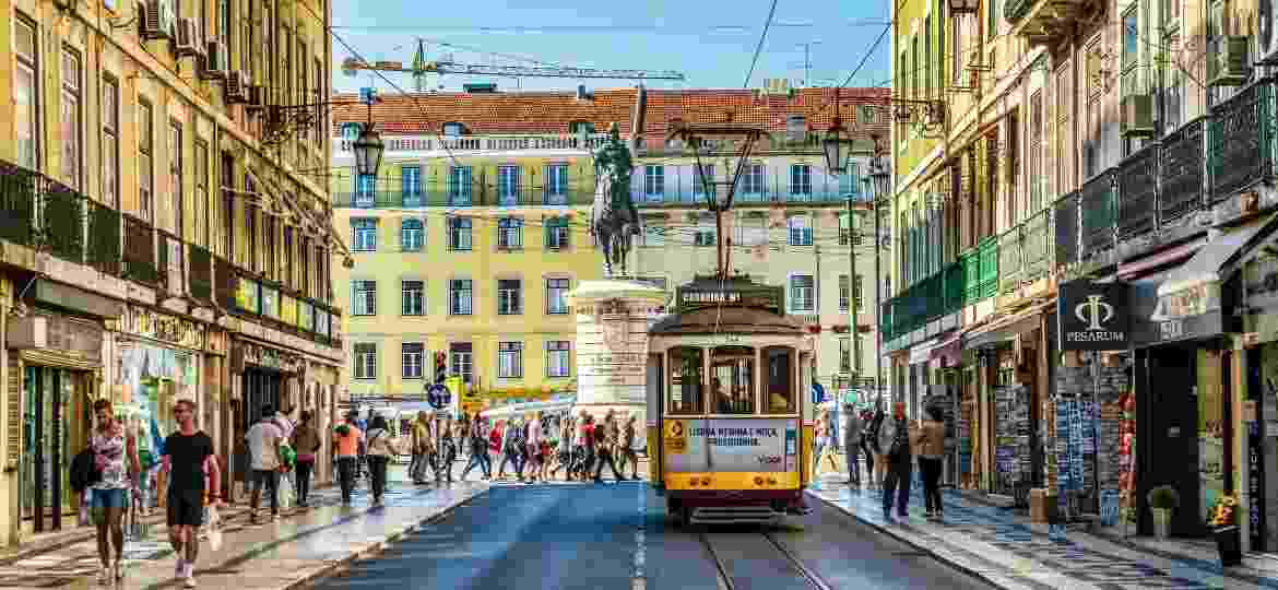 Centro histórico de Lisboa, capital de Portugal - Getty Images