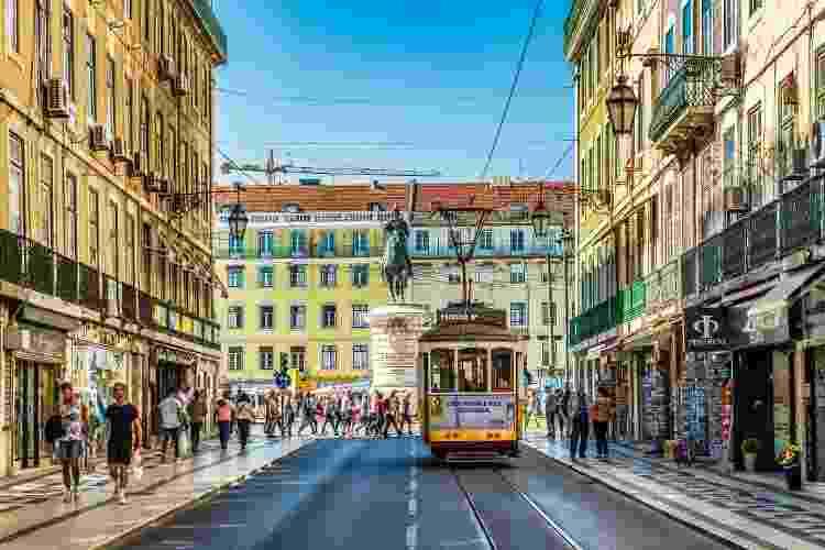 Centro histórico de Lisboa, capital de Portugal - Getty Images - Getty Images