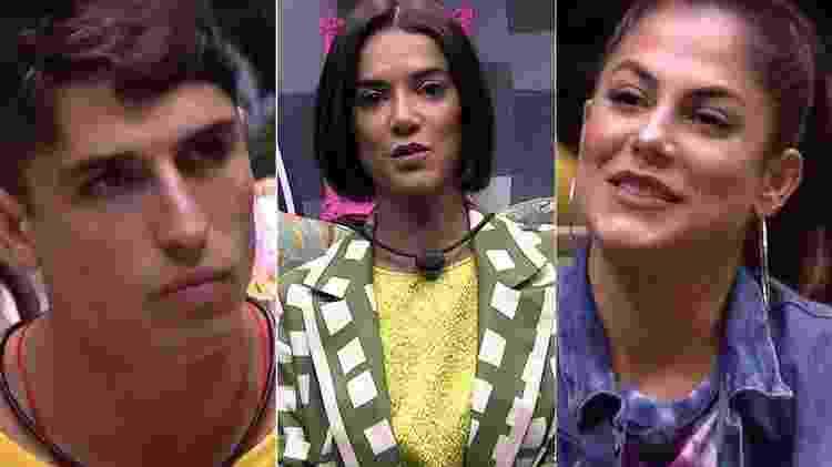 Prior, Manu e Mari - Reprodução/TV Globo - Reprodução/TV Globo