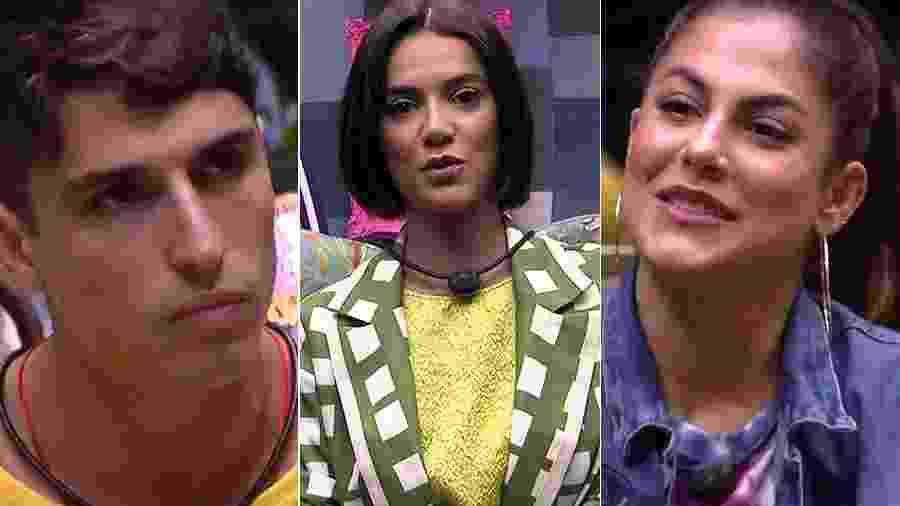 Prior, Manu e Mari estão no décimo paredão  - Reprodução/TV Globo