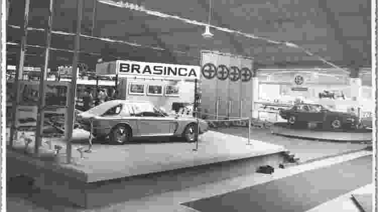 Brasinca 4200 GT Uirapuru Salão do Automóvel 1964 - Reprodução - Reprodução