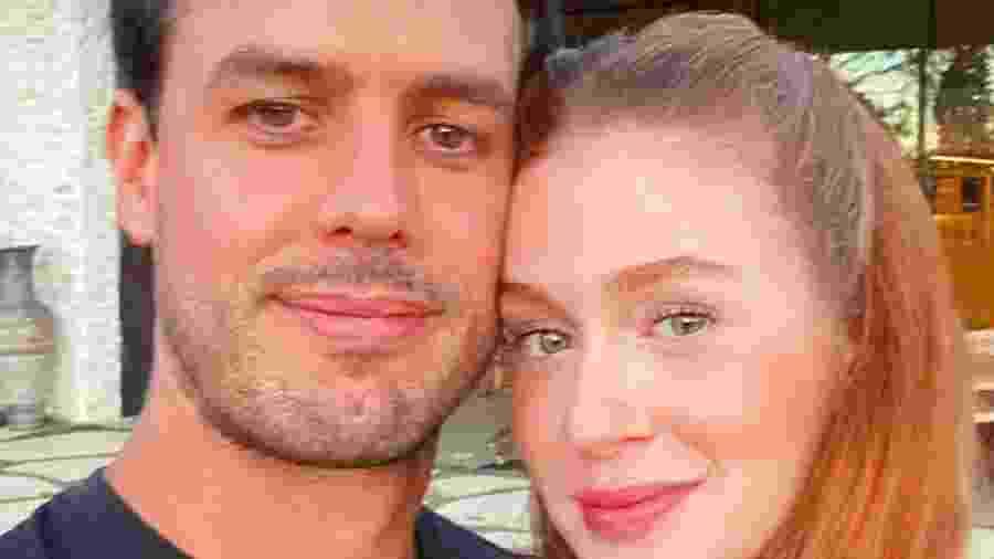 Marina Ruy Barbosa e o marido, Alexandre Negrão - Reprodução/Instagram