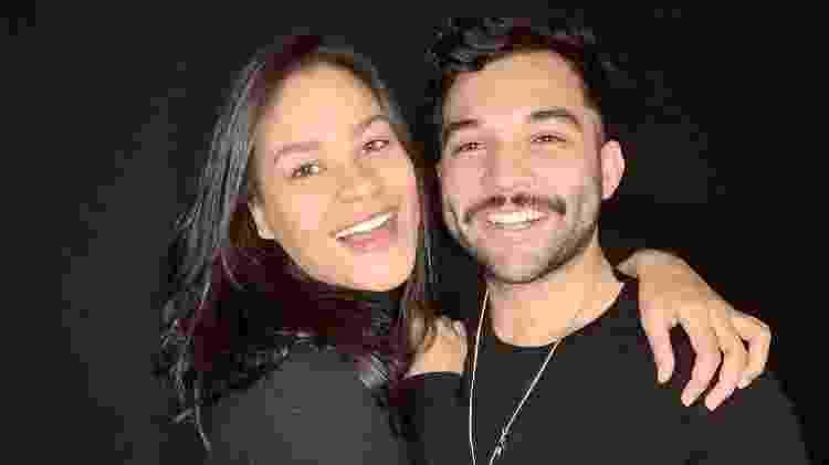 Jonathan Costa e Carolina Santos - Divulgação - Divulgação