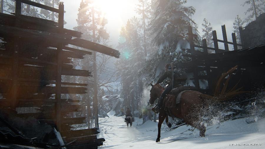 The Last of Us Parte II, do estúdio Naughty Dog, tem diversos recursos de jogabilidade para auxiliar deficientes visuais - Divulgação/Sony