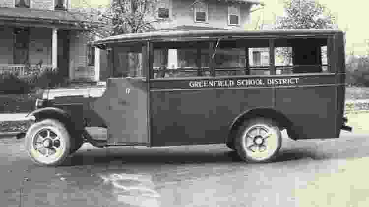C.R. Patterson & Sons ônibus - Reprodução/Sociedade Histórica de Greenfield - Reprodução/Sociedade Histórica de Greenfield