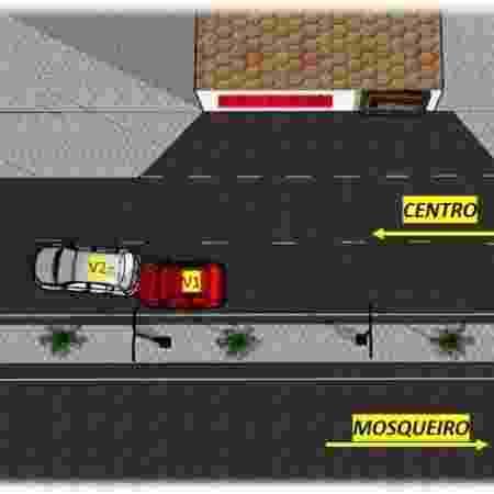 Acidente morte Chevrolet Celta 2014 Sergipe airbags mortais takata - Divulgação - Divulgação