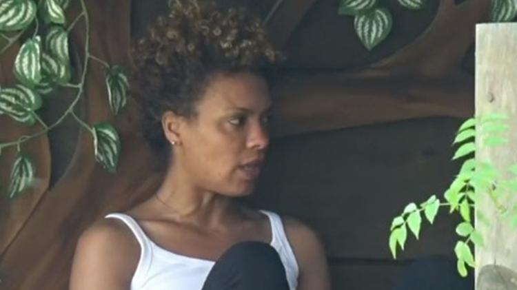 Fazenda 2020: Lidi Lisboa talks to Jake Oliveira and Tays Reis at the treehouse - Reproduction / RecordTV - Reproduction / RecordTV
