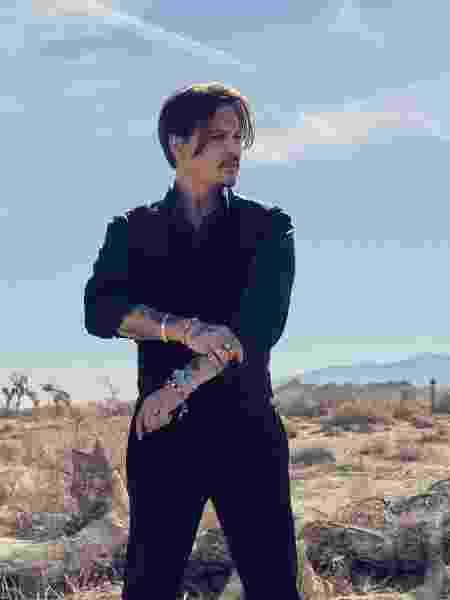 Johnny Depp para Sauvage, fragância da Dior - Reprodução