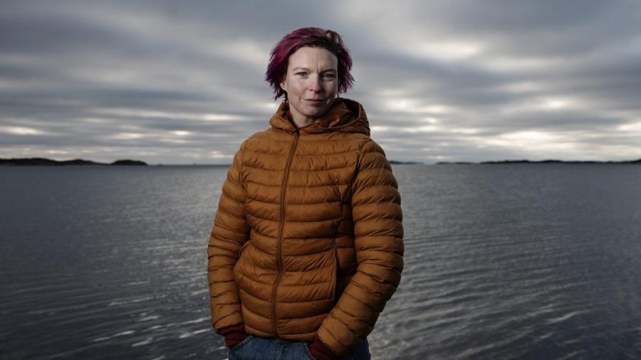 Lisa Enroth, que será a única espectadora dos filmes do Festival de Gotemburgo - Ola Kjelbye/Divulgação