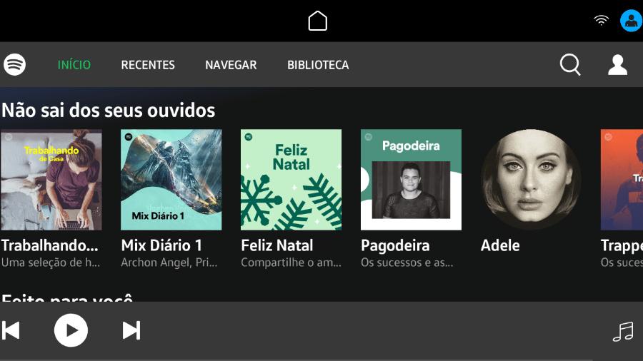 Central multimídia VW Play ganha app do Spotify - Divulgação