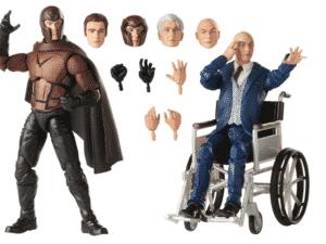Marvel Legends Series - Figuras Magneto e Professor X - Divulgação - Divulgação