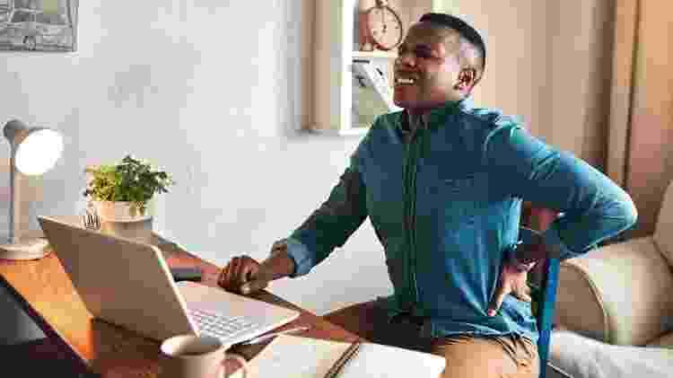 Dor nas costas: cadeira de escritório - Getty Images - Getty Images
